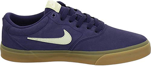 Nike Herren Sneaker SB Charge Suede Größe 46 EU Blau (Navy)