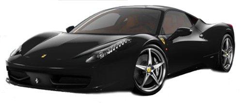 Hot Wheels 1:18 Ferrari 458 Italia schwarz MATT