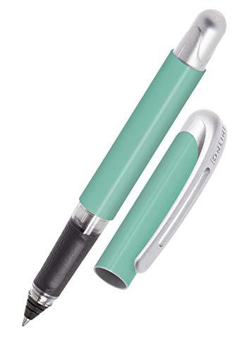 Online Tintenpatronen-Rollerball College Mint, Rollerball für Rechtshänder und Linkshänder, ergonomisches Griffstück, hochwertiger Roller-Ball, Standard-Tintenpatronen, inkl. Kombipatrone blau