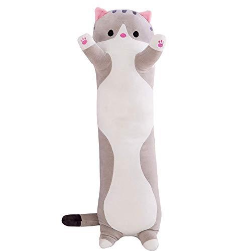 XIXIXI Cute Plush Cats Doll Soft Stuffed Pillow Doll Toy Gift for Kids Girlfriend Cat Stuffed Animals Cat Body Pillow