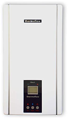 Thermoflow ELEX24N Elex 24 N Elektronischer Durchlauferhitzer, 400 V, Weiß, KW