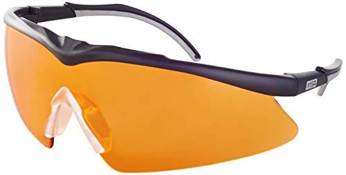 MSA TecTor OptiRock Schutzbrille - EN 166 & STANAG 2920 - Schwarz/Orange