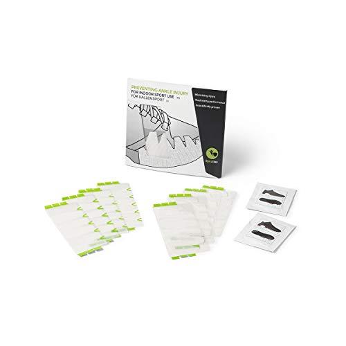 Spraino | speziell entwickeltes Tribo-Tape, das an der Außenseite des Schuhs angebracht Wird, um die Haftung zwischen Schuh und Boden zu reduzieren. (Weiß)