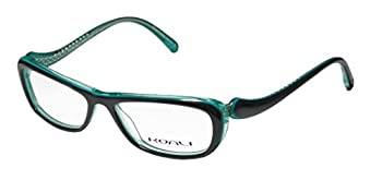 Koali By Morel 7059k Tight Fit For Ladies/Women Designer Comfortable Vision Care Eyeglasses/Eyeglass Frame  51-14-135 Greenish Gray/Turquoise
