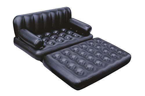 Bestway 5-in-1 multifunktionales Luftsofa aufblasbar für zwei Personen, 188x152x64 cm