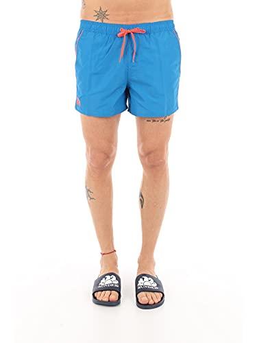SUNDEK - Costume da Bagno Corto con Vita Elasticizzata - Taglia L