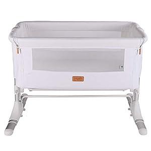 Venture Hush Bedside co Sleeping Crib - Cotton White
