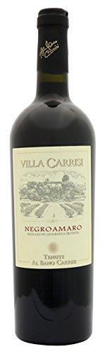 """Negroamaro Rosso IGP """"Villa Carrisi"""" - Tenute Al Bano Carrisi, Cl 75"""