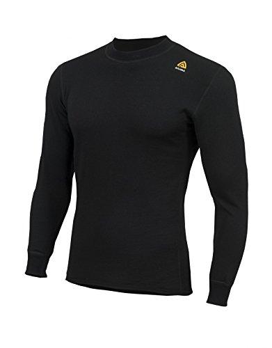 T-shirt Aclima Hotwool Crew Neck noir