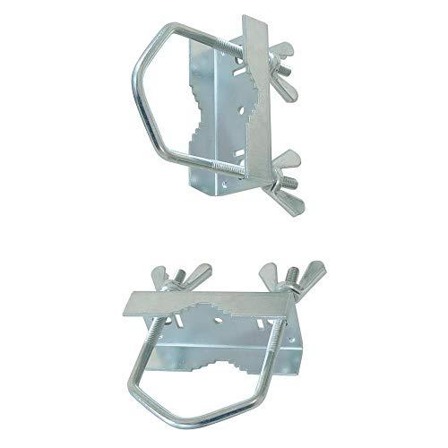 Schellensystem z.B. für Geländer- / Balkonmontage; für Rohre bis 30mm; Test sehr gut; CE geprüft