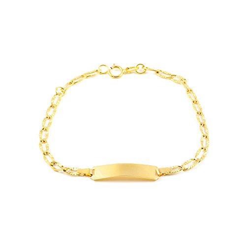 Bracciale per bambini - oro giallo 18k (750)