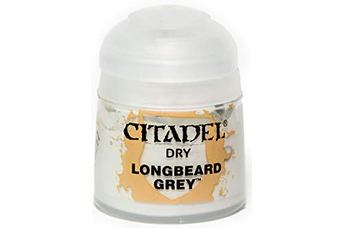 Games Workshop Citadel Drybrush: Longbeard Grey
