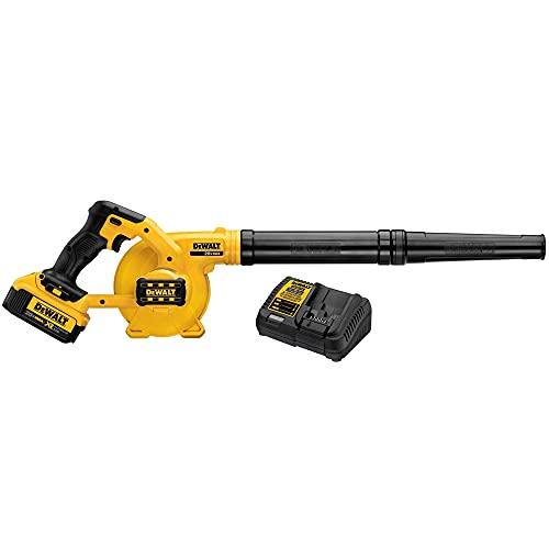 DEWALT 20V MAX Blower for Jobsite Kit, Compact...