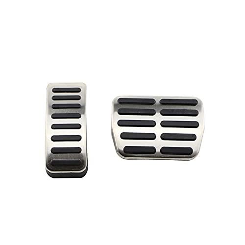 DkeBEI Cubierta de Pedal de Acelerador de Freno de Acero Inoxidable para automóvil, para Audi TT Pedale, para VW Seat Golf 3 4 Polo 9N3, para Skoda Octavia Ibiza Fabia A1 A2 A3 GTI