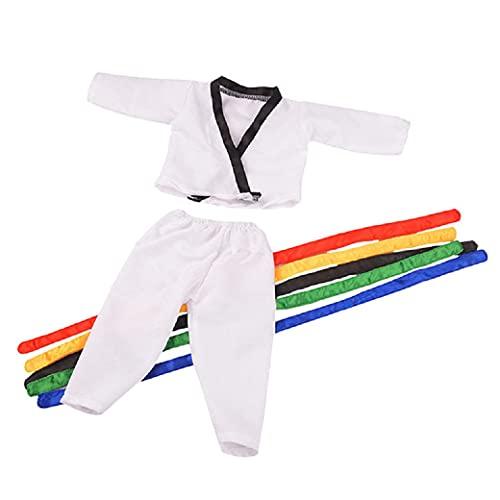 Top 1 Puppen Judoanzug Karateanzug...