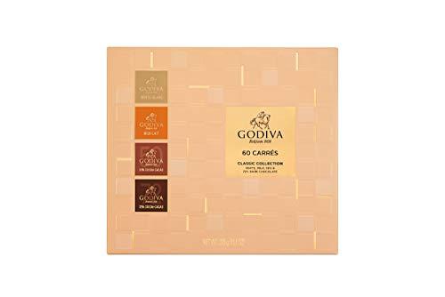 Godiva Carrés Gama Completa, 60 piezas