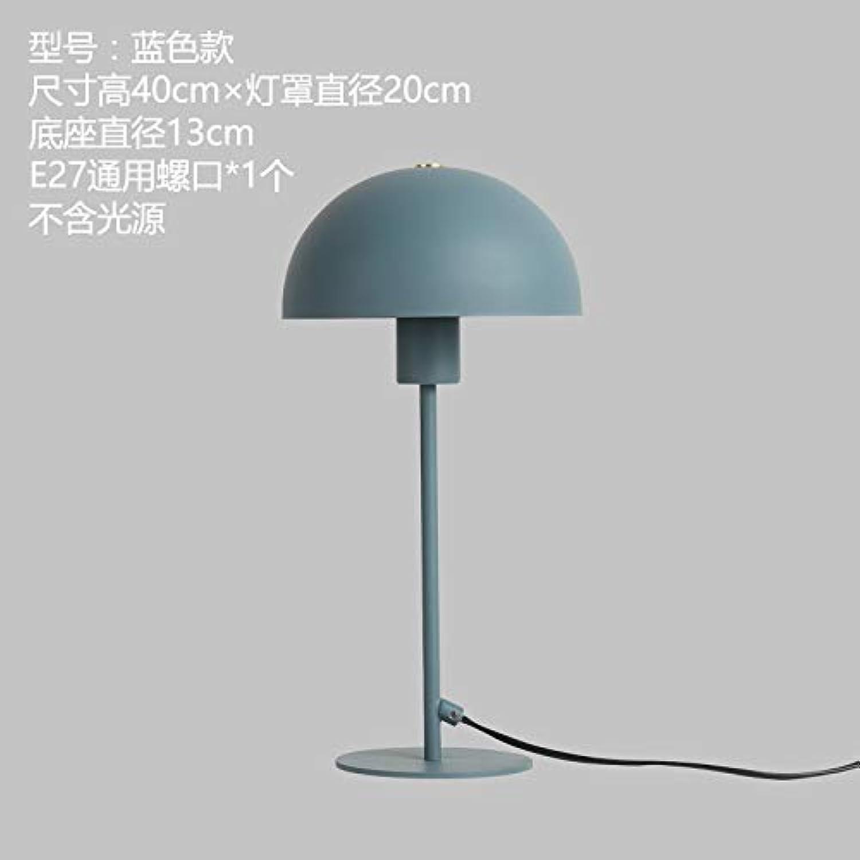 YU-K Zimmer die Arbeit des minimalistischen Schlafzimmer Arbeitszimmer Kinder Schreibtische, Bedside led Eisen Farbe personalisierten Energiesparlampen, 20  40 cm, blau, keine Lichtquelle
