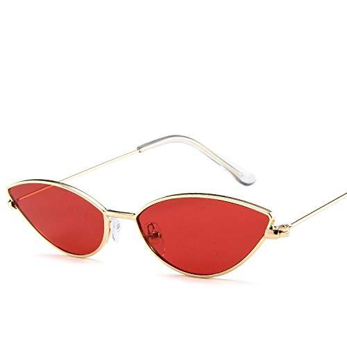 Gafas De Sol Polarizadas Mew, Gafas De Sol Vintage con Forma De Ojo De Gato, Gafas De Sol Triangulares Pequeñas para Mujer, Lentes De Color De Moda, Gafas Femeninas, Montura D
