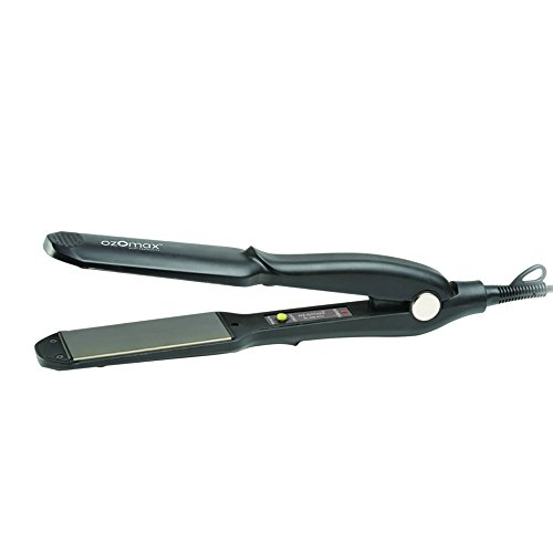 OZOMAX Wide Plate Hair Straightener With Non-Stick Coating - Best Hair Straightening...