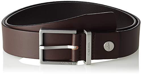 Calvin Klein Casual Adj. Belt 3.5cm Cinturón, Marrón (Turkish Coffe 201), 80 para Hombre