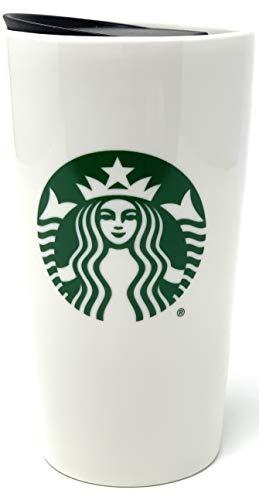 Starbucks 2020 Classic Traveler Tumbler Kaffeetasse (340 ml), Grün / Weiß