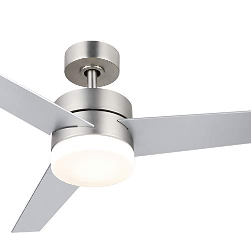 CO-Z 52'' Modern Ceiling Fan with Lights and Remote,...