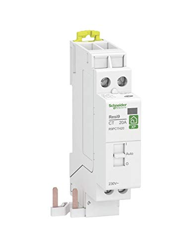 Schneider Electric R9PCTH20 Disjoncteur, Blanc