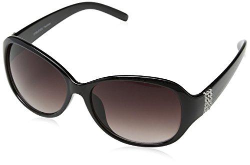 Eyelevel Tanya Gafas de sol, Negro (Black), 45 para Mujer