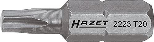 Hazet Bit 2223-T27 Sechskant massiv 6,3 (1/4 Zoll) Innen TORX Profil T27