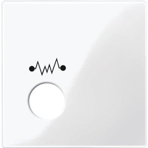 Merten 451219 centraal. F. Telefooneenheid als diagnostisch stopcontact, poolwit glanzend, Sys. M.