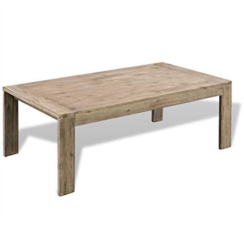 VidaXL Table Basse en Bois d'acacia Massif Taille Unique