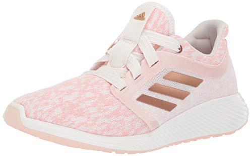 adidas Women's Edge Lux 3 Running Shoe Copper Metallic/Cloud White, 8 M US