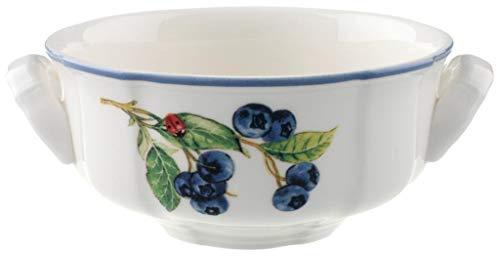 Villeroy & Boch Cottage Suppentasse, 350 ml, Höhe: 5,8 cm, Premium Porzellan, Bunt