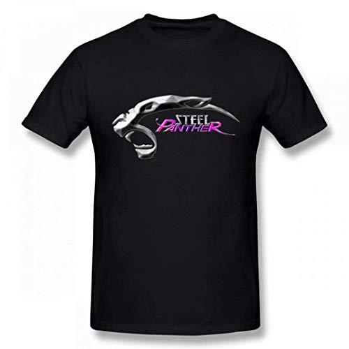 Welikee T-Shirt, Herren-Kurzarmshirt, Steel Panther Men's Tee Fashion T-Shirt