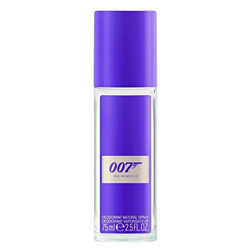 James Bond 007 For Women III – Deodorant Spray – Orientalisches, wohlriechendes Damen Deo für atemberaubend sinnliche Auftritte – 1er Pack (1 x 75ml)