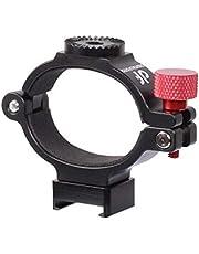 DF DIGITALFOTO OSMO2ANT Adaptador de Anillo Adaptador de Abrazadera de Clip con Montaje Hot Shot para Montaje Micrófono Monitor de luz de Video LED para dji OSMO Mobile 2 Estabilizador Gimbal