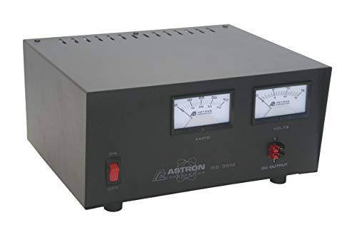Astron RS35M 35 AMP POWER SUPPLY WITH METER. Buy it now for 299.00