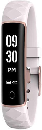hwbq IP68 - Reloj inteligente de pulsera impermeable con monitor de ritmo cardíaco, monitor de sueño, monitor de sueño, podómetro