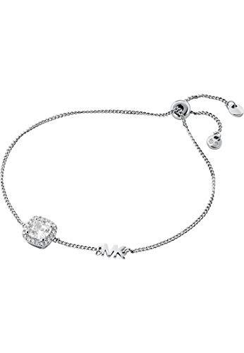 Michael Kors Pulsera para mujer de plata 925 con circonitas, talla única, 88129792