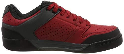 Giro Riddance Mens Downhill Cycling Shoe − 44, Dark Red/Dark Shadow (2020)