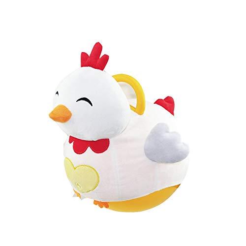 Xyanzi ertongwanju Le Siège Gonflable de Videur, Boule De Trépied De Jouets De Jouets pour des Enfants 3-5 Ans (Boule de PVC, Pompe Incluse) (Poussin)