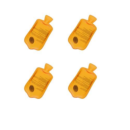 Taschenwärmer Flaschenwärmer-Motiv Gel-Wärmekissen Handwärmer 50° Celsius Fingerwärmer gegen Kalte Finger für Herbst und Winter (4er-Set)