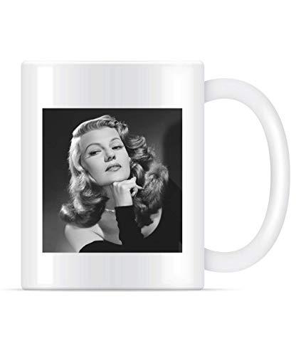 Rita Hayworth Classic Gilda Film - Taza de café para mujer y hombre, 311,84 g