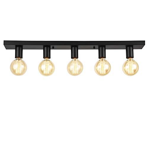 lux.pro Deckenleuchte 'Korinth' Deckenlampe 5-flammig Design Leuchte Metall Modern 5xE27