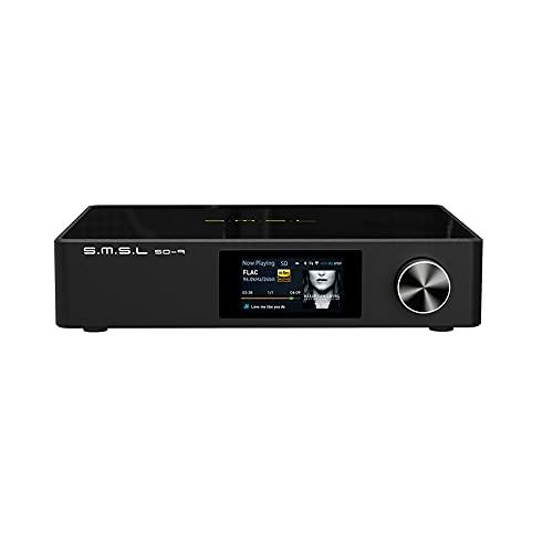 S.M.S.L SD-9 MQA Full Decoding Bluetooth 4.0 HiFi Network Music Player SD9 Support DSD, WAV APE,FLAC AIFF, MP3 Desktop Player