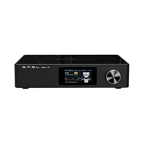 S.M.S.L SD-9 MQA Full Decoding Bluetooth 4.0 HiFi Network Music Player SD9 Supporto DSD, WAV APE, FLAC AIFF, MP3 Desktop Player