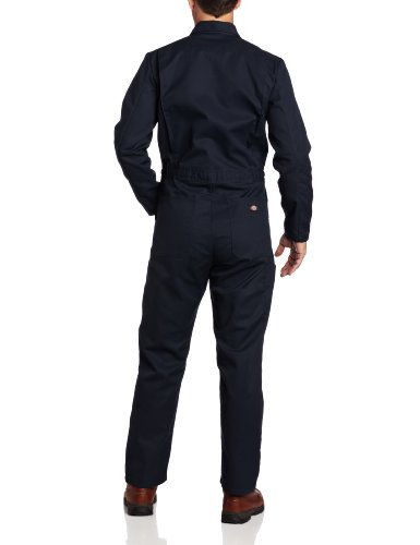 Dickies Men's Basic Blended Coverall, Dark Navy, XL X-Tall