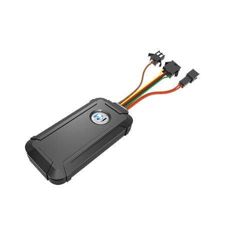 WanWayTech 4G GPS Tracker G30 8-Wire Connection Remotely Cut-Off Petrol/Electricity SOS Button with Free GPS Tracking Software