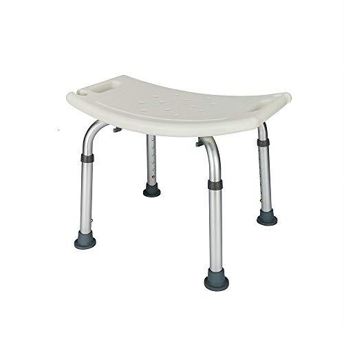 OMECAL Upgraded 450 LBS Medical Shower Bath Chair Seat,Stool Transfer Bench Seat, SPA Bathroom Bathtub Chair No-Slip