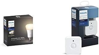 Philips Hue (ヒュー) ホワイト スターターセット + Philips Hue(ヒュー)モーションセンサー 人感センサー【Amazon Echo、Google Home、Apple HomeKit、LINE対応】